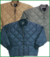 Flight Jackets Diamond Quilted Jacket Sizes: M To XL