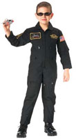 Kids Flight Coveralls Top Gun Style Coverall