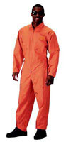 Military Flightsuits - Orange Air Force Style Flightsuit 3XL