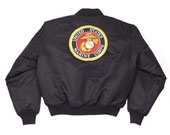 US Marines Logo Flight Jackets