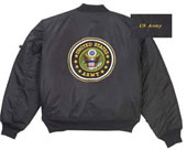 US Army Logo MA-1 Flight Jackets 2XL