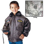 Kids Aviator Flight Jackets - WWII Style Flight Jacket