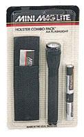 Mini Maglite Flashlight Holster Combo Packs
