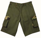 Fatigue Shorts Xtra Long Olive/Camo Shorts 3XL