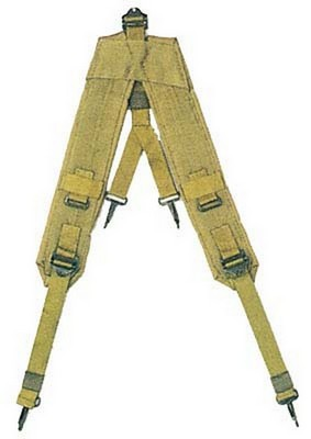 Military Surplus Genuine GI LC-1 Suspenders