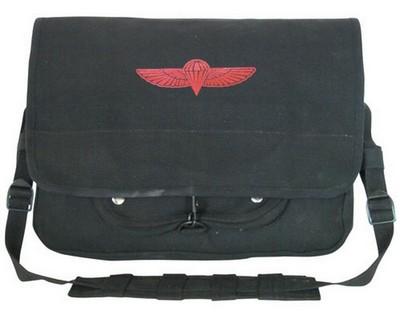 Military Shoulder Bags - Khaki Israeli Paratrooper Bag