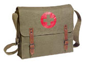 Military NATO Medic Bags - Olive Drab Canvas Medical Bags
