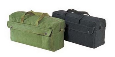 Jumbo Mechanics Tool Bag - Olive Drab Military Style Tool Bags