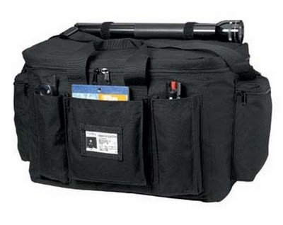 Black Police Equipment Bags