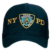 Genuine NYPD Shield Caps: Adjustable Cap