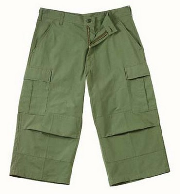 BDU Pants Olive Drab BDU Capri Pants 3XL
