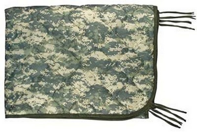 Digital Camo Poncho Liners GI Army Type Poncho Liner