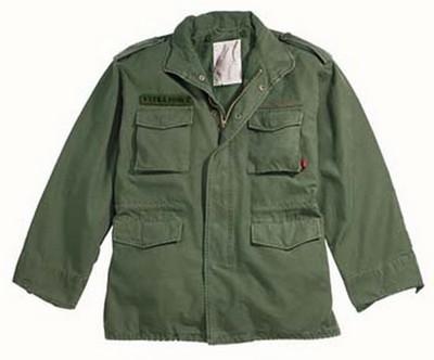 Military Jackets Olive Drab Vintage M-65 Field Jacket