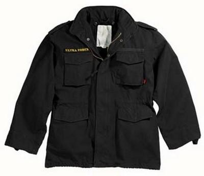 Military Jackets Black Vintage M-65 Field Jacket 3XL