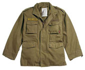 Vintage M-65 Field Jackets Russet Brown Vintage Military Jacket