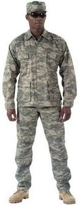 Camouflage Pants ACU Digital Camo Fatigue Pants 3XL