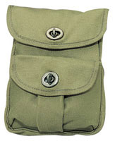 Camouflage Military Ammo Pouches - 2 Pocket Ammo Pouches
