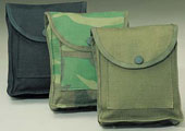 Military Utility Pouch - Black Canvas Utility Pouches