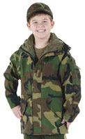 Kids Camouflage Coats Kids Camo Foul Weather Parka