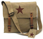 Military Bags Khaki Star Vintage Medic Bag
