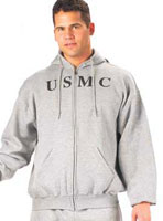USMC Zipper Sweatshirts GI Type 2XL