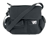 Shoulder Bags Urban Explorer Black Canvas Shoulder Bags