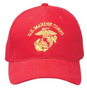 Military Caps US Marine Corps Red Caps