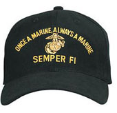 Military Caps Marines Semper Fi Caps