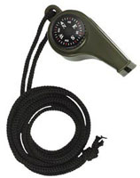Compass Rothco Super Whistle Compass