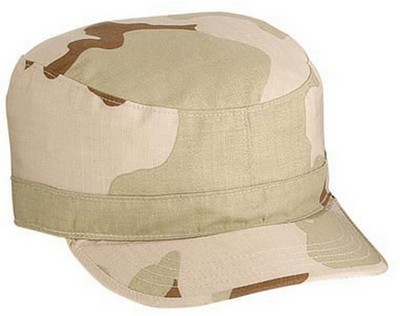 Camo Fatigue Caps Desert Camo Cap