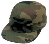 Camouflage Military Street Caps - Woodland Camo Cap