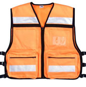 Safety Vests Orange EMS Rescue Vest