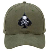 Military Caps Death Spade Military Baseball Caps
