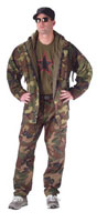 Camouflage Parkas Woodland Camo GI Type Foul Weather Parka 2XL and 3XL