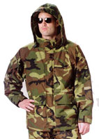 Military Parkas Camouflage ECWCS Generation II HYVAT Parka 2XL