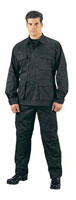 Black Fatigues Military Battle Dress Uniforms Pants