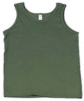 Kids Military Tank Tops Olive Drab Kids Tank