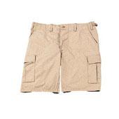 Khaki Shorts Military Cargo Shorts 100% Cotton Size 3XL
