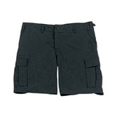 Black Shorts Military Cargo Shorts 100% Cotton