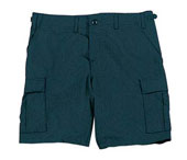 Navy Blue Shorts Military Cargo Shorts 100% Cotton Size 2XL