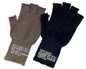 GI Fingerless Gloves Military Gloves Olive Drab