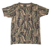 Kids Camouflage T-Shirts Smokey Branch Camo