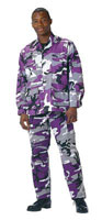 Military Fatigues (BDUs) Ultra Violet Camo Pants 3XL