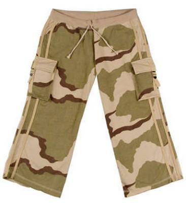 Camouflage Clothes Womens Desert Camo Capri Sweatpants