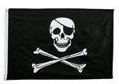 Pirate Jolly Roger Flags / Banners