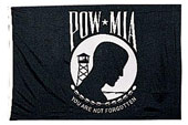 Pow/Mia Flags / Banners