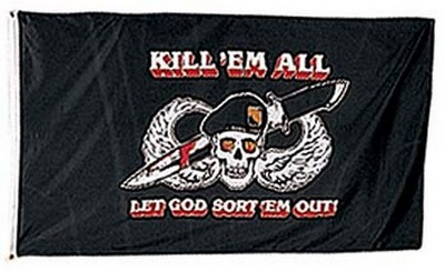 Kill Em All Flags Banners Army Navy Shop
