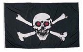 Skull And Cross Bones Flags / Banners