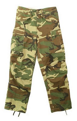 Military M-65 Field Pants Vintage Camouflage: Army Navy Shop