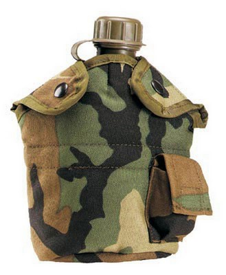 Camouflage Gi Plus Nylon Canteen Covers 1 Qt Army Navy Shop